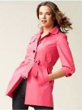 BANANA REPUBLIC WOMEN'S CLASSIC TRENCH COAT Pink SZ M LINED