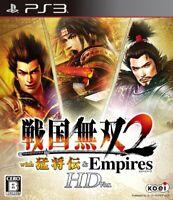 USED PS3 PlayStation 3 Sengoku Musou2 with Moushouden & Empires HD 52132JPIMPORT