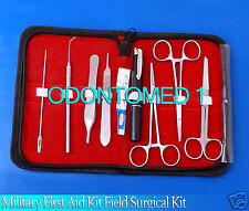 Military First Aid Kit Field Surgical Kit Basic for minor surgery