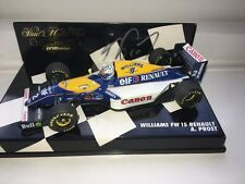 Alain Prost Williams FW15 1:43rd Scale Model SIGNED