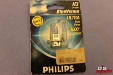 PHILLIPS BLUE VISION ULTRA BLUE 4000K 12V 55W PART# PIAA /PBVH3