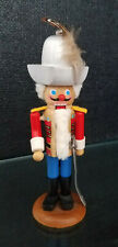 """Vintage Steinbach Small 6"""" Tall Nutcracker Soldier - Made In West Germany Mini"""