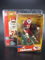 Priest Holmes Kansas City Chiefs McFarlane Football Figur NFL Ser 6