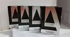 Azzaro pour homme VIAL on Card .Vintage. ( pack of 4 )