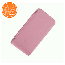 LG PINK LEATHER LOOK UNIVERSAL LG PHONE SLEEVE POUCH POCKET CASE - PINK - CCL240