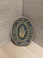 UVF  Original Badge World War One WW1 Christmas Decoration Quantity 4