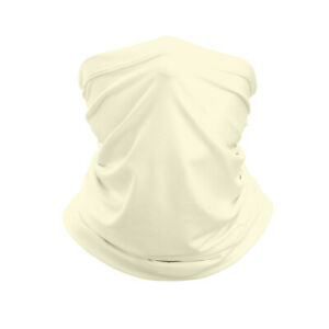 4 Piece Neck Gaiter Face Mask Balaclava Neckerchief Bandanna Headband Multi
