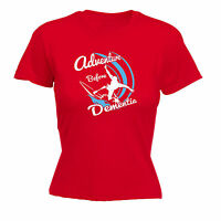 ADVENTURE BEFORE DEMENTIA SURF WOMENS T-SHIRTS surfer funny mothers day gift