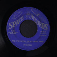 JIM JACKSON: Two Little Puppies, One Old Shaggy Hound 45 (obscure, xol, closer