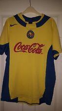 Camicia calcio da uomo-Club America-NIKE-COCA COLA-Home 2003-04 - MOLTO RARO