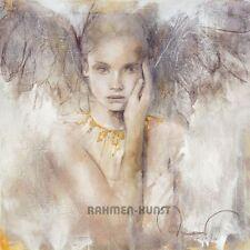 Amrhein: In Wahrheit ist es Liebe Engel Fertig-Bild 50x50 Wandbild Romantik