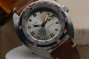 VINTAGE US DIVERS DOXA SEARAMBLER 300t SUB LATE 60'S EARY 1970'S DIVE WATCH
