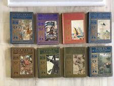 Robin Hood Pinocchio Gullivers Travels Fables La Fontaine Arthur Rackham 8 Books