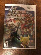 Nintendo Wii Super Smash Bros Brawl Game BRAND NEW SEALED