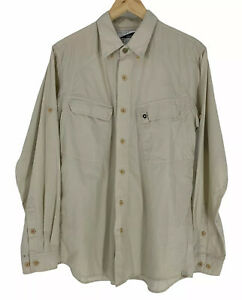 Exofficio Shirt Mens M Insect Shield long sleeve hiking camping vented