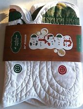 "CHRISTMAS TABLE RUNNER Snowman Family 36""  by St Nicholas Square"