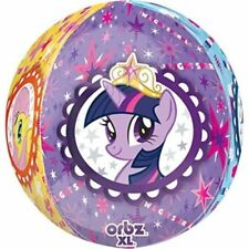 Globos de fiesta redondos de cumpleaños infantil, My Little Pony