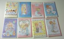 8pc precious moments birthday & wedding greeting cards w envelopes