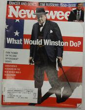 Newsweek Magazine Evan Thomas Christopher Hitchens June 2008 052615R2