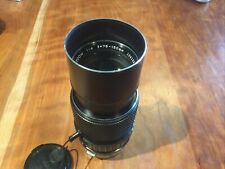 Olympus Om 75-150mm f4 Zuiko Auto Zoom Lens 75-150/4 Excellent condition!