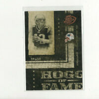 2004 Hogg Heaven Hogg of Fame Tom Brady Insert #hf-24 Bucs QB MVP! GOAT!