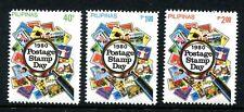 Philippines 1486-1488,MNH.Michel 1375-1377. Postage Stamp Day,1980.