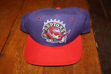 Vintage New Era Pro Model Toronto Raptors Wool Hat - Made in USA