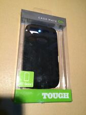 Genuine CASE-Mate Cover Telefono Duro Custodia per HTC nero-Desire S