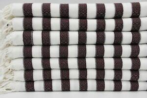 "White and Black Towel,Shower Towel,Beach Peshtemal,Turkish Towel,40""x70"",B1-soft"