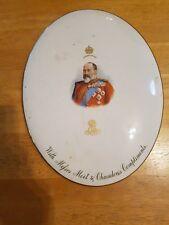 MOET & CHANDON King Edward VII Coronation 1902 Advertising Plaque Royal Doulton