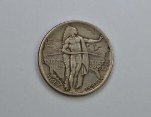 1926 Oregon Trail Silver Commemorative Half Dollar Circulated - No Reserve