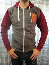 Harry Potter Gryffindor Shield Official Zipped Sweatshirt Hooded Jumper