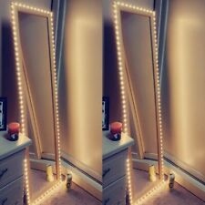 Vanity Makeup Mirror Light 5V USB LED Flexible Tape USB Cable Powered Dressing