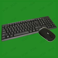 Wireless Keyboard & Mouse With USB Nano Receiver For PC, Laptop, Windows Tablets
