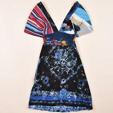 Desigual Damen Kleid Dress Gr.XS (DE 34) Mehrfarbig, 64699