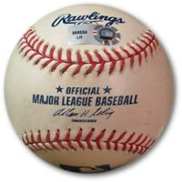 Alfonso Soriano Game Used Baseball 7/10/10 - Ground Out vs. Ely Cubs LH969534