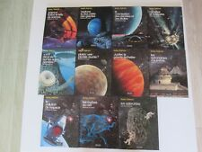 LOT ISAAC ASIMOV PERE CASTOR BE/TBE 11 TOMES BIBLIOTHEQUE DE L'UNIVERS ESPACE