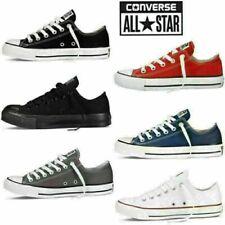 Converse Unisex Chuck Taylor Classic All Star Low Tops Canvas Turnschuhe Schuhe