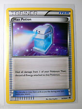 4x MAX POTION 94/98 BW Emerging Powers Trainer Pokemon Card