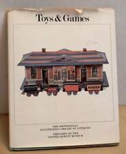 1981 Book Smithsonian Museum Toy & Games Illustrated Antique Collection
