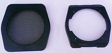 ONE interior door speaker bracket and cover for Volvo 240 244 245 242 black