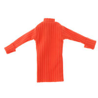 Fashion Handmade 12'' Girl Doll Sweater for Blythe Doll Winter Outfit Orange