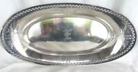 ANTIQUE STERLING CELERY TRAY *ALVIN SILVER Co. c.1920