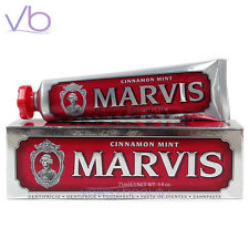 MARVIS Toothpaste Cinnamon Mint 75ml (Red, Whitening, Sorbitol, Made in Italy)