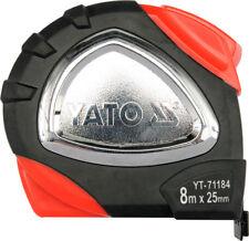 Yato Professional METRICA METRO A NASTRO 8 M Gancio Magnetico rivestito di Nylon