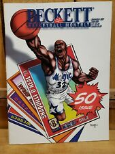 Beckett Basketball Magazine Monthly Price Guide September 1994 Shaquille O'Neal