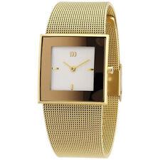Danish Design Women's Quartz Gold Tone Stainless Steel Mesh Watch IV05Q973