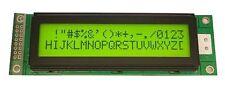 DISPLAY LCD 2X20 YELLOW GREEN SET HD44780 CON BACKLIGHT