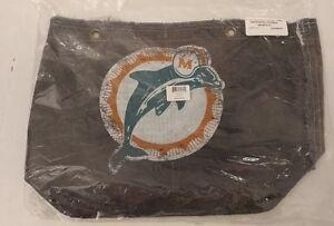 Little Earth Productions Miami Dolphins Vintage Retro Tote/Purse/Bag Denim NISP