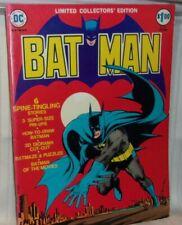 BAT MAN 1974 Limited Collectors Edition DC Super Stars Folio 3 Super Size Pin-up